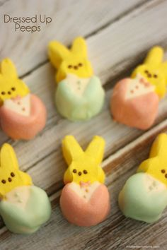 These Peeps are all