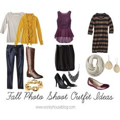 Fall Photo Shoot Outfit Ideas by worleyhouse, via Polyvore