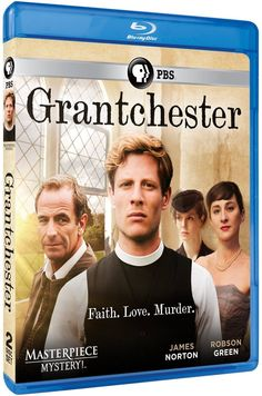 I'm hooked on the new mini-series Grantchester already. Anyone else? It's a period drama set near Cambridge in the 1950s. I love the tension and the developing relationship between Reverend Sidney Chambers (played by James Norton) and Detective Inspector Geordie Keating (played by Robson Green). I love the vintage fashions and sets, too.