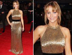 Jennifer Lawrence Incredible Ralph Lauren dress