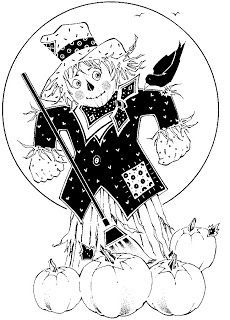 scarecrow coloring pages   Scarecrow Coloring Pages, Halloween Scarecrow Coloring Pictures