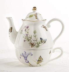 Butterfly Tea For One
