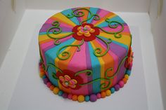 Sandra's birthday cake, via Flickr.