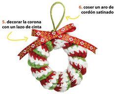 Cómo tejer una corona con resortes a crochet: Tejiendo Peru