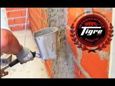 Revocadoras Tigre™ - Revoque en interior y exterior - YouTube