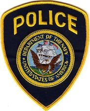 Department of the Navy Police patch NEW