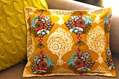 HOW TO SEW A SHAM PILLOW WITH ZIPPER CLOSURE