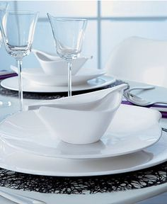 Villeroy & Boch Dinnerware, Flow Collection @ Macy's (fine china)