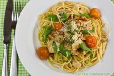 Chicken Scallopini with Lemon Butter Pasta