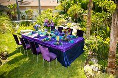 Blue, Purple, Event, Peacock