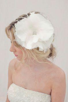 Crystal Hair Pin, Crystal Hairpiece, Wedding Hairpiece, Flower Pin, Flower Hairpiece - HARPER on Etsy, $198.00