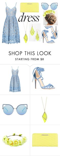 Party set #3 by sandstormthenerd on Polyvore featuring Alexandre Birman, Rebecca Minkoff, Alexis Bittar, Matthew Williamson, Forever 21 and dreamydresses