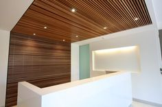 ANGLES FEATURE TIMBER GRAIN ON RECEPTION DESK - Google Search