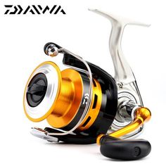 100% Original Daiwa 16 New CREST 2000A 2500A 3000A 4000A Spinning Fishing Reel 5.3:1 3+1BB Front Drag Carp Fishing reel
