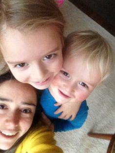 Selfie de mis afectos !!!  Happy Day MoM