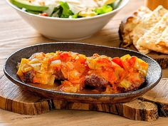 Oven baked meatballs with fresh pepper, tomatoes, garlic and herbs. Simply delicious @Fuoco
