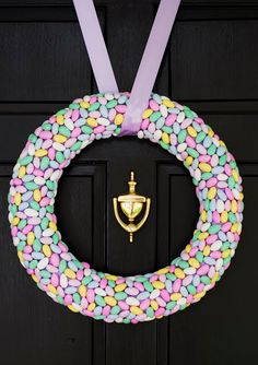 Terrific wreath tutorial and 45 BEST Spring Party, Craft & Decor Tutorials EVER with their LINKS!!! GIFT, PARTY, EVENT, SPRING, WEDDING DECOR. Blog & Photos from MrsPollyRogers.com