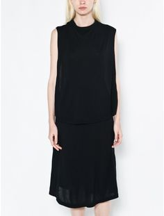 4d241d4fe4b88 OAK front panel dress black