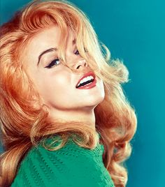 Ann-Margret, the original redhead bombshell, I love this woman, a true Inspiration!