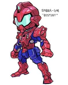 Marvel Superheroes As Gundam Robots