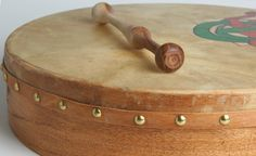 The bodhran is an Irish drum measuring 12 to 24 inches in diameter and a depth of between 4 to 8 inches. This Celtic drum has been described as the. Tambour, Celtic Instruments, Irish Musical Instruments, Irish Drum, Bodhran Drum, Irish Festival, Celtic Music, Celtic Art, Irish Culture