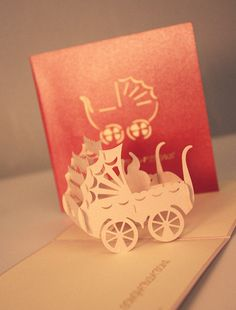 A New baby Pop Up Card