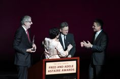 30th Annual Fred & Adele Astaire Awards Honor Liza Minnelli. Marvin Hamlisch, Liza Minnelli, Mikhail Baryshnikov, Tony Danza. June 4, 2012