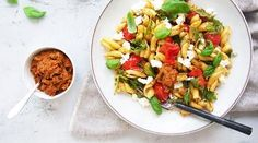 Oppskrifter – Enriched Food Gazpacho, Bruschetta, Fried Rice, Guacamole, Hummus, Pesto, Fries, Ethnic Recipes, Food