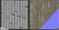 Tiling wood board texture I made for CTF-TitanPass