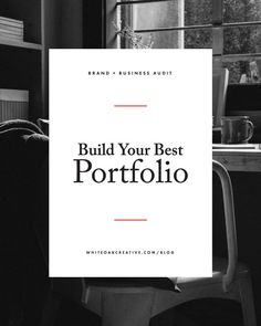 Four key components and free worksheet on portfolio best practices for content creators and creative entrepreneurs.