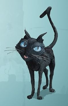 the cat from coraline