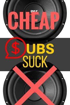 Buy only the best 8 inch subwoofer