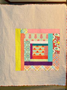 ~inspiration: also for crochet projects~ Scrap Improv Quilt | by bijou lovely