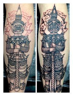 thai giant tattoo