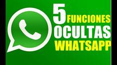 5 Funciones Ocultas de Whatsapp Trucos que No Sabias 2017