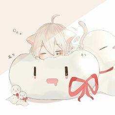 on Insta - anime Chibi Kawaii, Manga Kawaii, Loli Kawaii, Kawaii Anime Girl, Anime Art Girl, Anime Neko, Cute Anime Chibi, Fanarts Anime, Cute Anime Guys