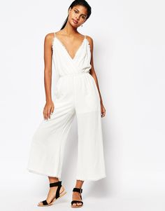 Image 1 ofMoon River Raw Edged Jumpsuit