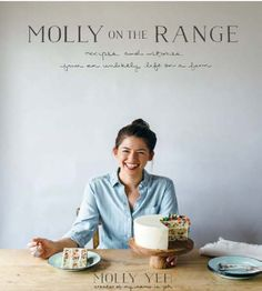 """Read """"Molly on the Range Recipes and Stories from An Unlikely Life on a Farm: A Cookbook"""" by Molly Yeh available from Rakuten Kobo. Star of Food Network's Girl Meets Farm, and winner of the Judges' Choice IACP Cookbook Award, Molly Yeh explores home an. Ayesha Curry, Tapas, Molly Yeh, Scallion Pancakes, Cornmeal Pancakes, Smitten Kitchen, Köstliche Desserts, Food 52, Pistachio"""