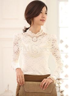 lacey blouse for layering or on own