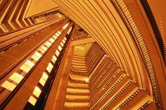 Atlanta Marriott Marquis Atrium; been here so many times, but it's still breathtaking