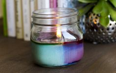 Scented Soy Candles|DIY|Darby Smart| #masonjars #candles