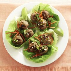 Meatballs are just as good atop lettuce as they are with pasta, but this way is lighter, so you can eat even more. Can't argue with that! Recipe: Meatball Lettuce Wraps   - Delish.com