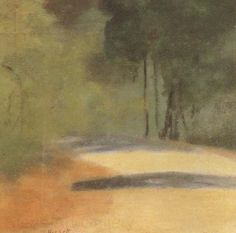 Clarice Beckett was an Australian Tonalist painter whose works are featured in the collections of the National Gallery of Australia, National Gallery of Victoria and the Art Gallery of South Australia. Contemporary Landscape, Abstract Landscape, Landscape Paintings, Oil Painting Pictures, Painting Gallery, Art Gallery, Australian Painting, Australian Artists, Painted Picture Frames