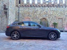 2017 Maserati Levante - competitors