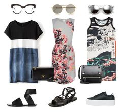 """""""Untitled #98"""" by tam-west on Polyvore featuring Oasis, Carven, Jeffrey Campbell, Tomas Maier, Proenza Schouler, Wildfox, Le Specs, Marc Jacobs, Prada and Givenchy"""