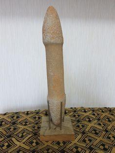 アフリカのサハラから発掘された石器です