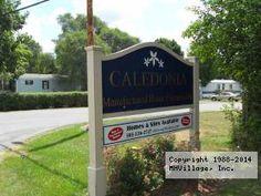 Caledonia Mobile Home Park In NY Via MHVillage