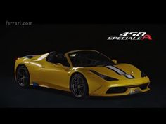 Ferrari 458 Speciale A: Official Video | Autofluence