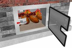 The BrickWood Box Installation Manual - We show you How to Build a Wood-Fired BBQ, Meat Smoker, Pig Roaster, Rotisserie, Dutch Oven Frying and Outdoor Pizza Oven & Bread Baking Machine! Pizza Oven Kits, Diy Pizza Oven, Pizza Ovens, Grill Grates, Bbq Grill, Grilling, Bread Oven, Bread Baking, Patio Fire Pits