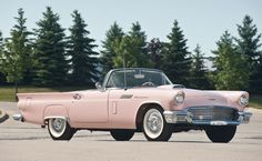 1957 Ford Thunderbird 'E-Code' Convertible #cars #classiccars